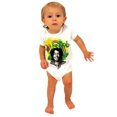 Bob Marley Rainbow Infant Creeper