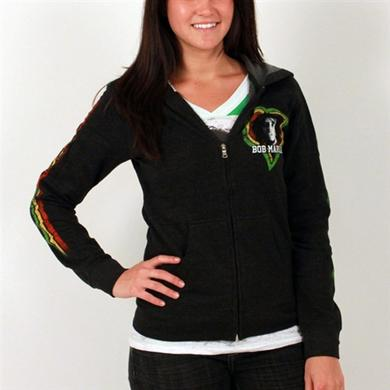 Bob Marley One Love Smile Zip Hoodie