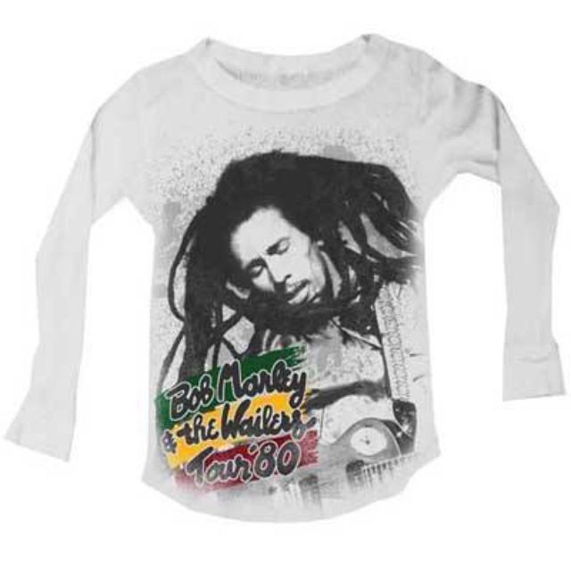 Bob Marley 1980 Tour Toddler Thermal