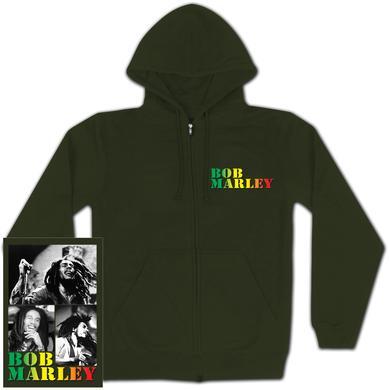 Bob Marley COLLAGE MARLEY Hoodie