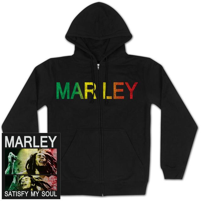 Bob Marley SATISFY MY SOUL Hoodie