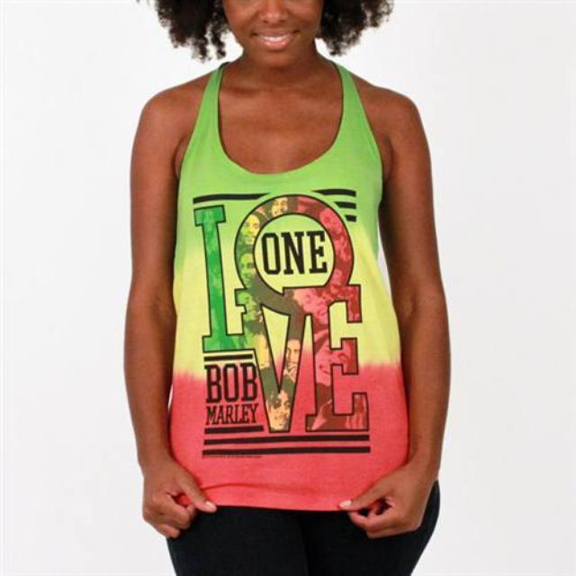 Bob Marley Rasta One Love Tank
