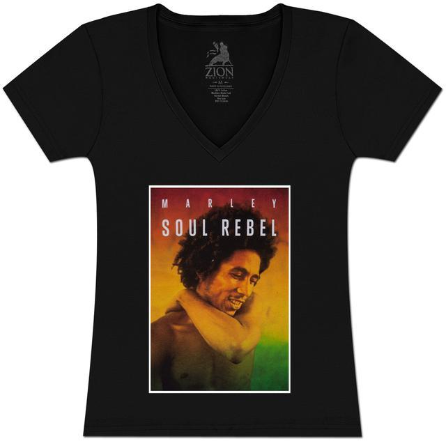 Bob Marley Soul Rebel Jr V-Neck