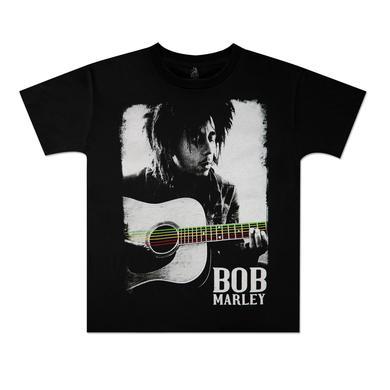 Bob Marley Guitar Toddler T-Shirt