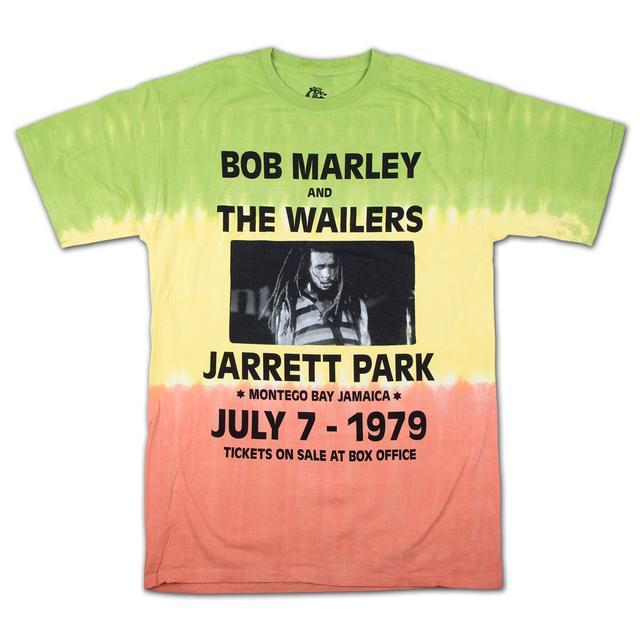 Bob Marley Rasta Dye Concert T-Shirt