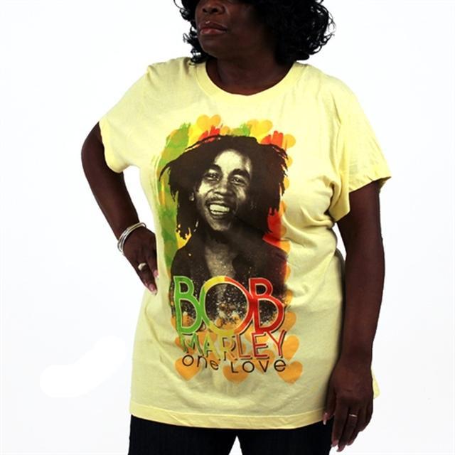 Bob Marley One Heart Plus Size