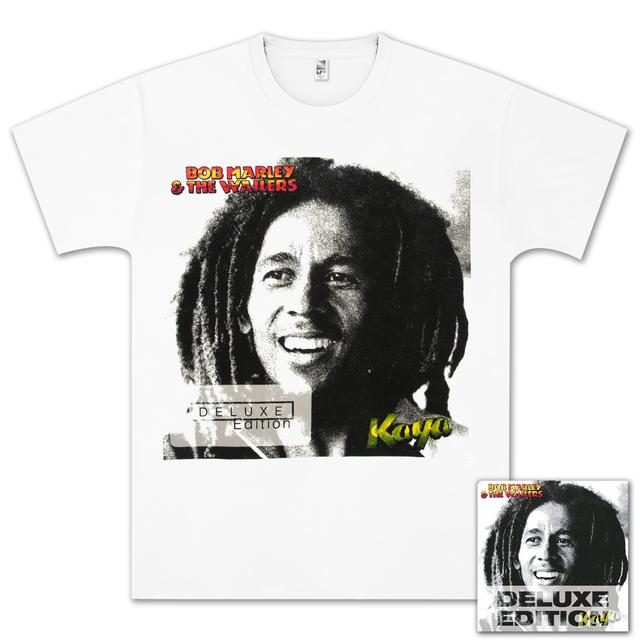 Bob Marley - Kaya Deluxe CD/T-Shirt Bundle