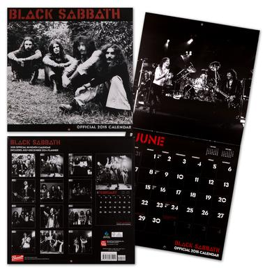 Black Sabbath Black Sabbath Official 2015 - 18 Month Calendar