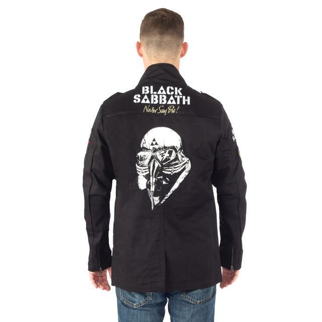 Black Sabbath Army Jacket
