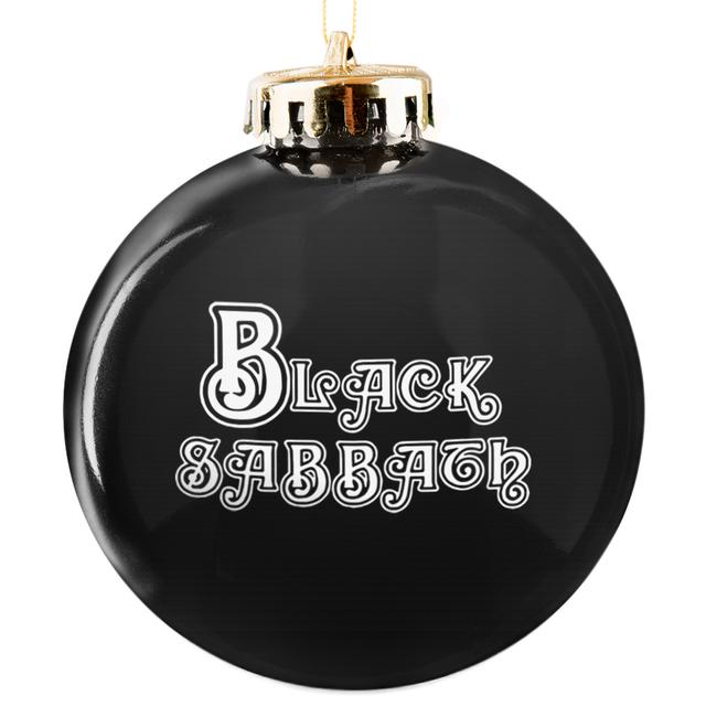 Black Sabbath Logo Ornament