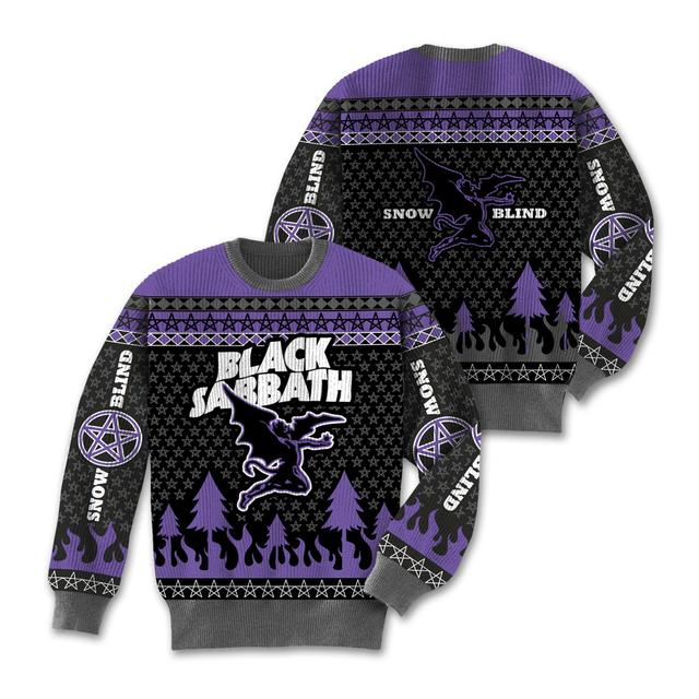 Black Sabbath Snow Blind Sweater