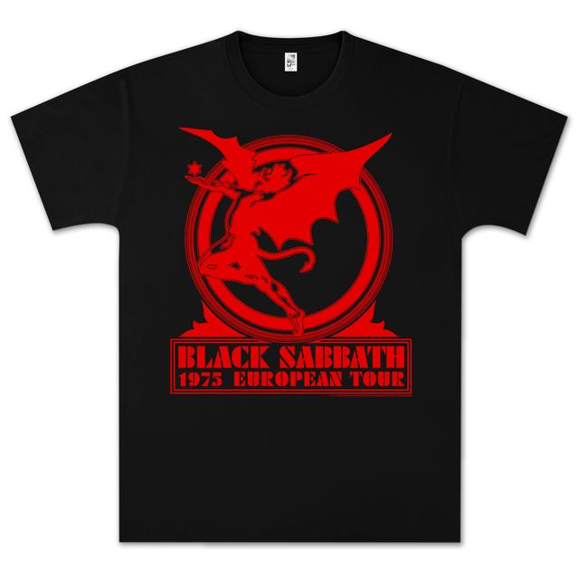 Black Sabbath Europe '75 T-Shirt