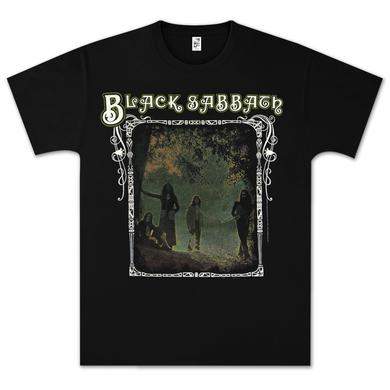 Black Sabbath Photo Framed T-Shirt - black