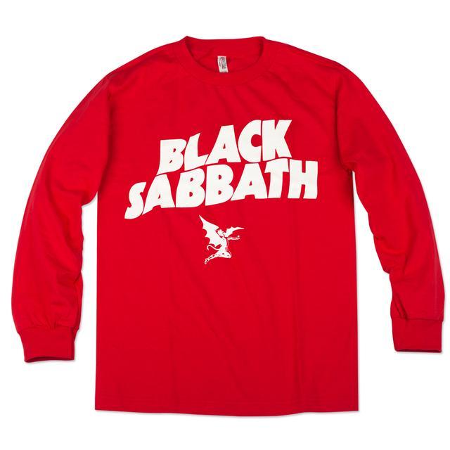 Black Sabbath Logo Long-sleeve Shirt