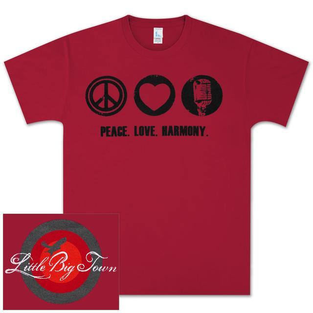 Little Big Town LBT Peace Love Harmony T-Shirt