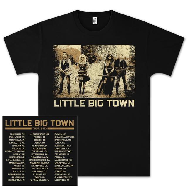 Little Big Town LBT Photo Square Tour T-Shirt