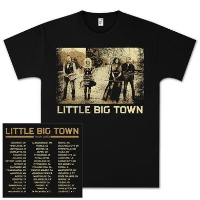 Little Big Town LBT Photo Square Tour T-Shirt