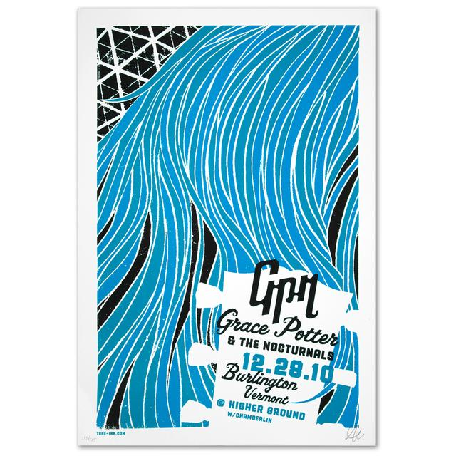 Grace Potter And The Nocturnals Grace Potter & The Nocturnals Higher Ground Ballroom Poster