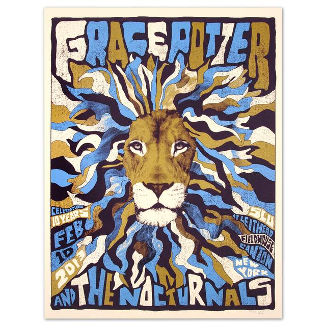 Grace Potter And The Nocturnals GPN - Celebrating 10 Years Feb. 10 2013 Print