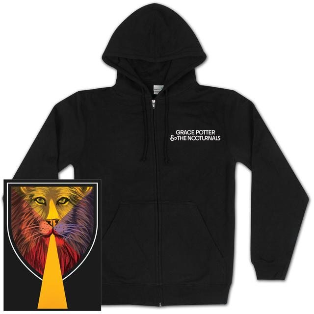 Grace Potter And The Nocturnals Lion Cover Zip Hoodie