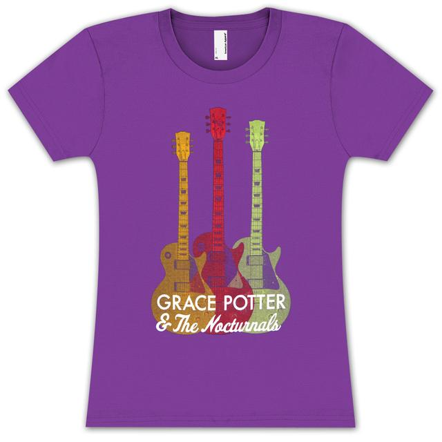 Grace Potter And The Nocturnals Grace Potter & The Nocturnals Ladies Guitar T-Shirt