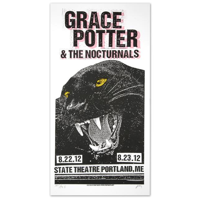 Grace Potter And The Nocturnals GPN -  8/22/2012 &  8/23/2012 State Theater Portland, ME. Print