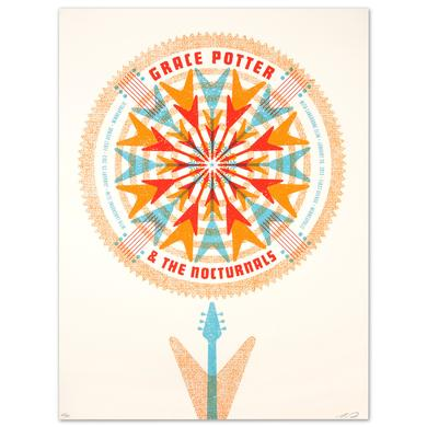 Grace Potter And The Nocturnals GPN - Langhorne Slim Jan. 25 & 26 2013 First Av. Minneapolis Print