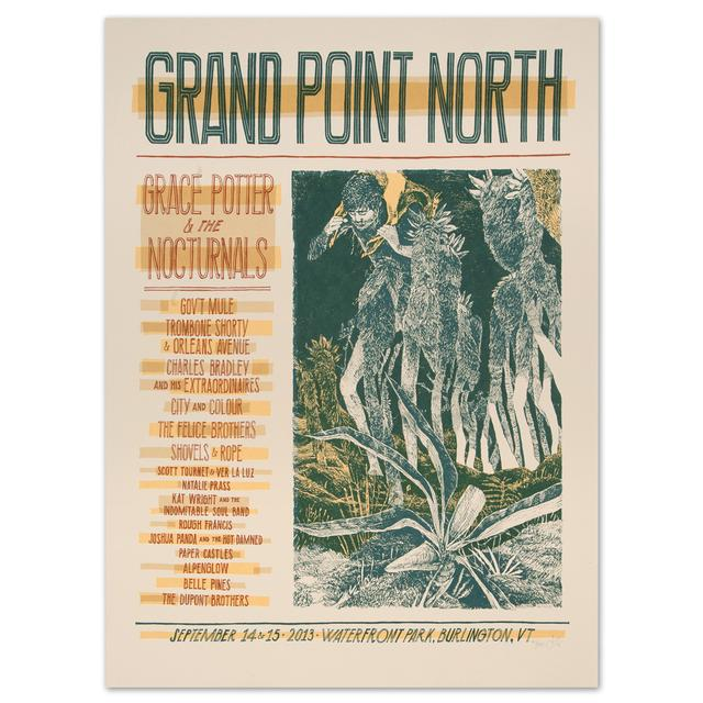 Grace Potter And The Nocturnals GPN - Sept 14 & 15 2013 Grand North Point Show Print