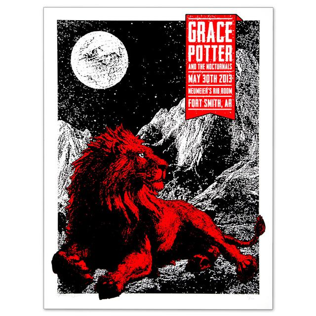 Grace Potter And The Nocturnals GPN - May 30th 2013 Neumeier's Rib Room Show Print
