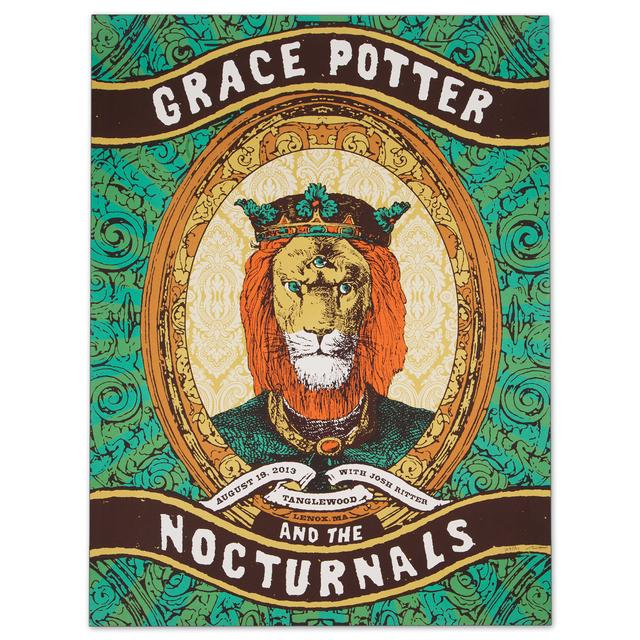 Grace Potter And The Nocturnals GPN - August 19, 2013 Tanglewood Show Print