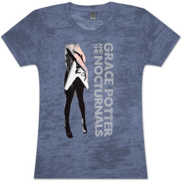 Grace Potter And The Nocturnals Grace Potter Flying V Girlie T-Shirt