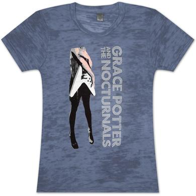 Grace Potter And The Nocturnals Grace Potter Flying V Girlie T-Shirt