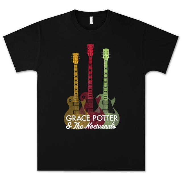 Grace Potter And The Nocturnals Grace Potter & The Nocturnals Guitar T-Shirt