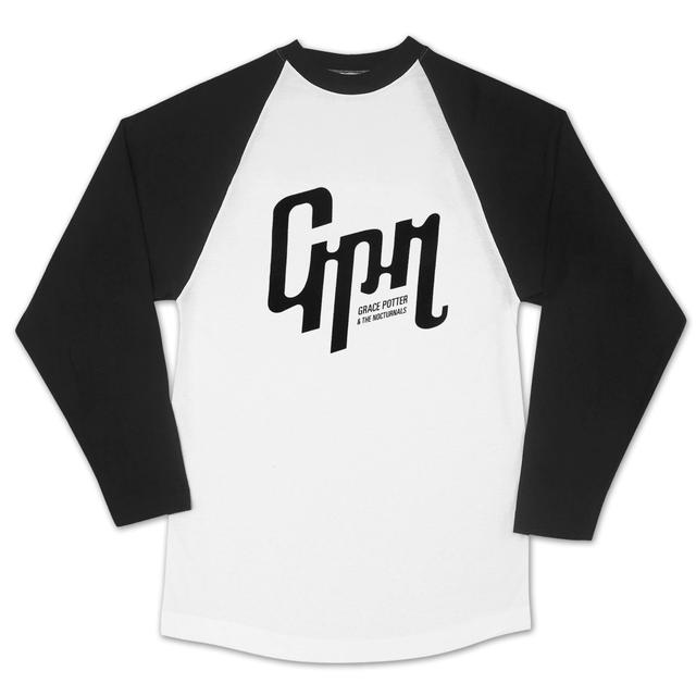 Grace Potter And The Nocturnals GPN Logo Baseball Raglan