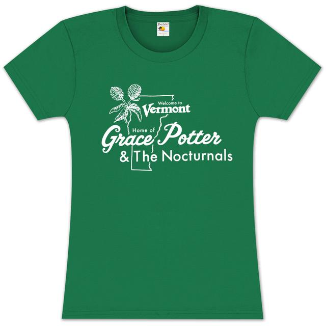 Grace Potter And The Nocturnals Grace Potter & The Nocturnals Vermont Girlie T-Shirt