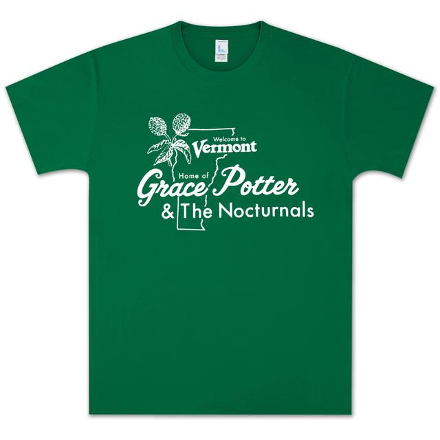 Grace Potter And The Nocturnals Grace Potter & The Nocturnals Vermont T-Shirt