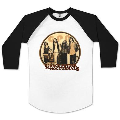 Grace Potter And The Nocturnals GPN Band Graphic Baseball Raglan
