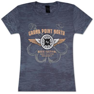 Grace Potter And The Nocturnals Grace Potter & The Nocturnals Grand Point North Festival Women's Burnout T-Shirt