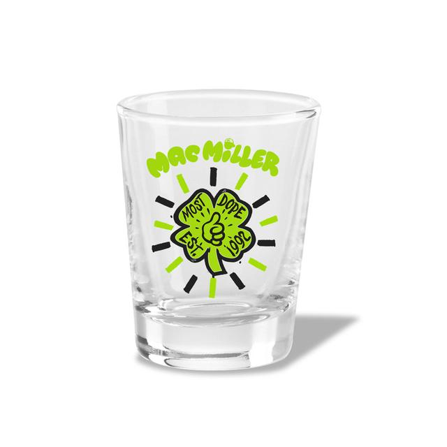 Mac Miller Shamrock Shot Glass