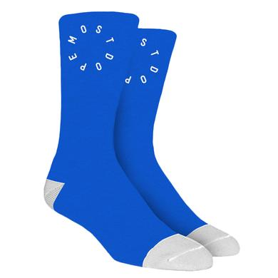 Mac Miller MOST DOPE BLUE SOCKS