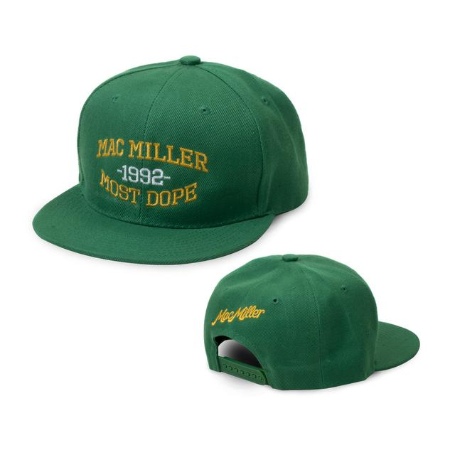 Mac Miller Green Hat
