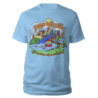 Blue Slide Park Mac Miller t-shirt