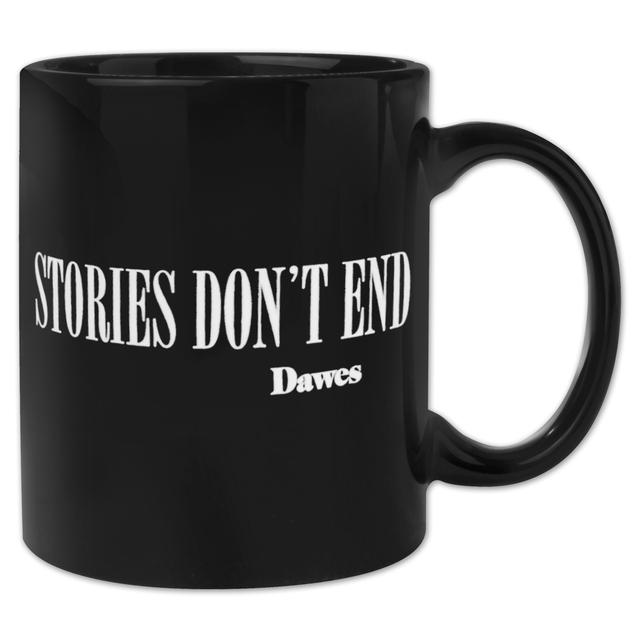 "Dawes ""Stories Don't End"" Black Mug"