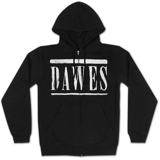 Dawes Stencil Black Hoodie