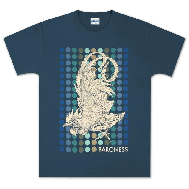 Baroness Rooster Blue T-Shirt