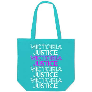 Victoria Justice Stacked Logo Tote Bag