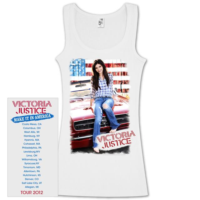 Victoria Justice Angled Tour Tank Top