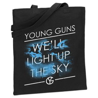 Young Guns Light Up the Sky Tote