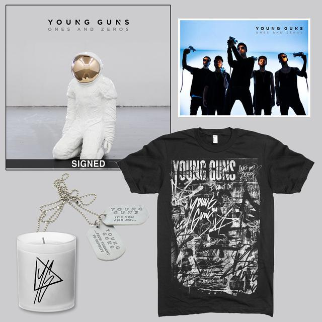 Young Guns Ones and Zeros Deluxe CD Bundle
