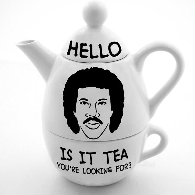 Lionel Richie Hello Tea Pot